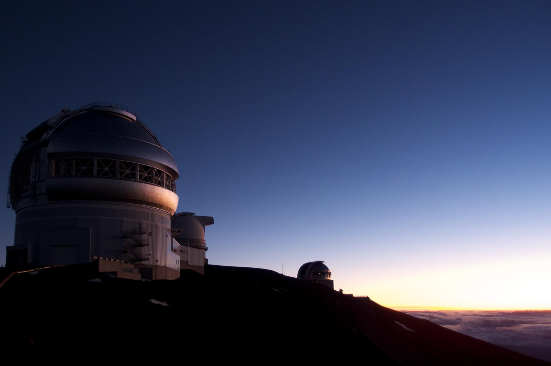 Sternwarte in Hawaii