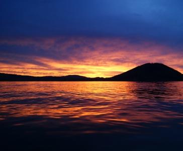 Attersee Sonnenuntergang
